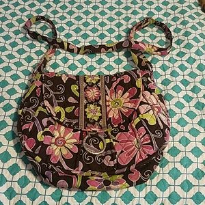 Vera Bradley saddle bag purse